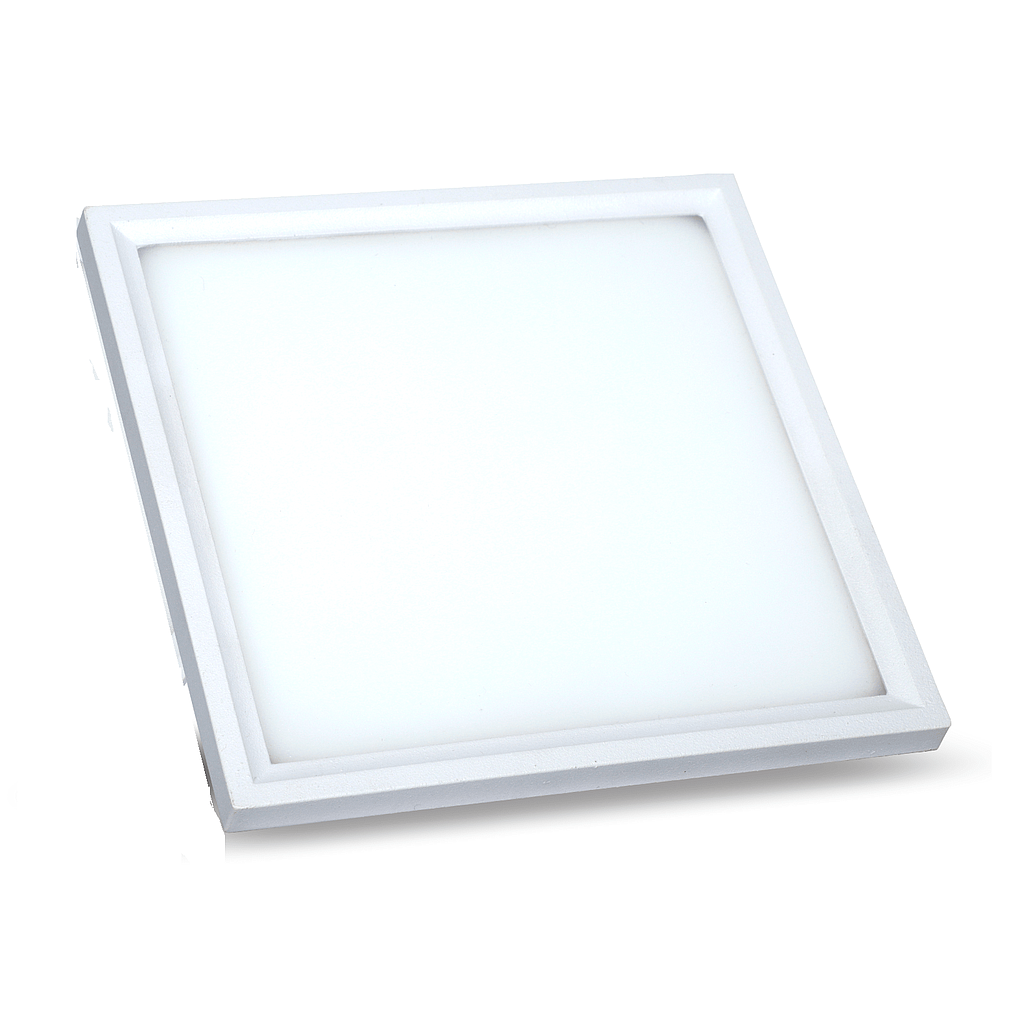 LED Ultra Slim Panel Light - Square - 22W - 4000K