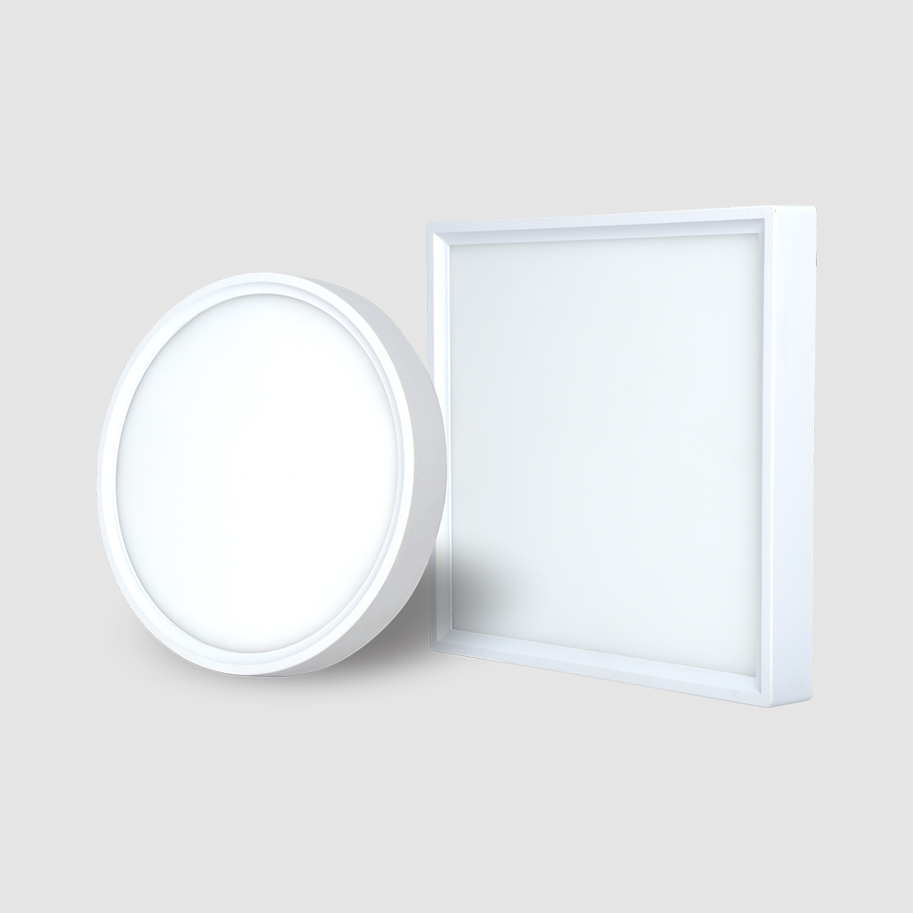 Ultra Slim Surface Panel Light - Round - 16W - 6500K