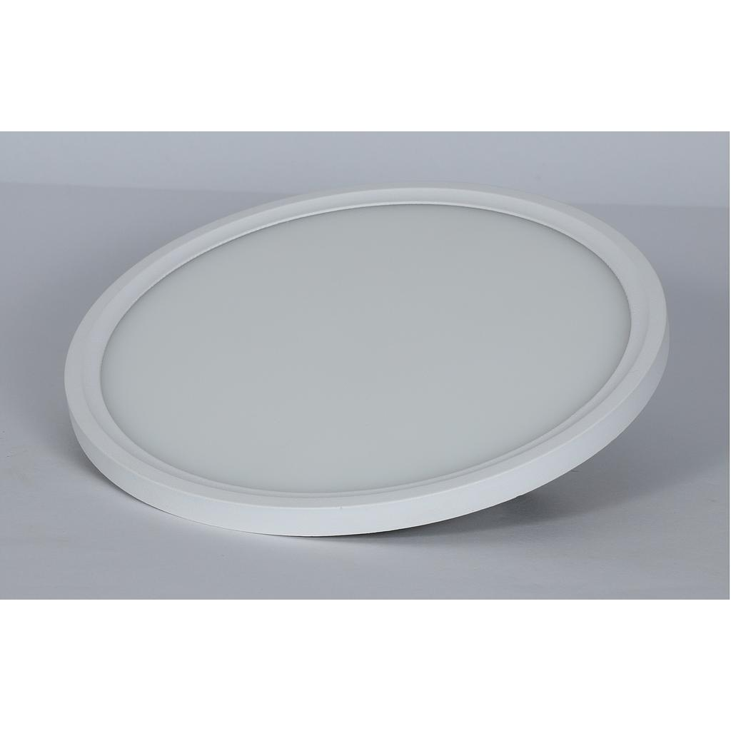 LED Ultra Slim Panel Light - Round - 22W - 6500K