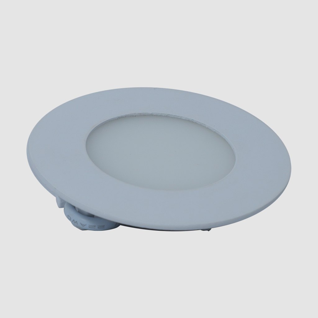 LED Panel Light - Round - 03W - 6500K