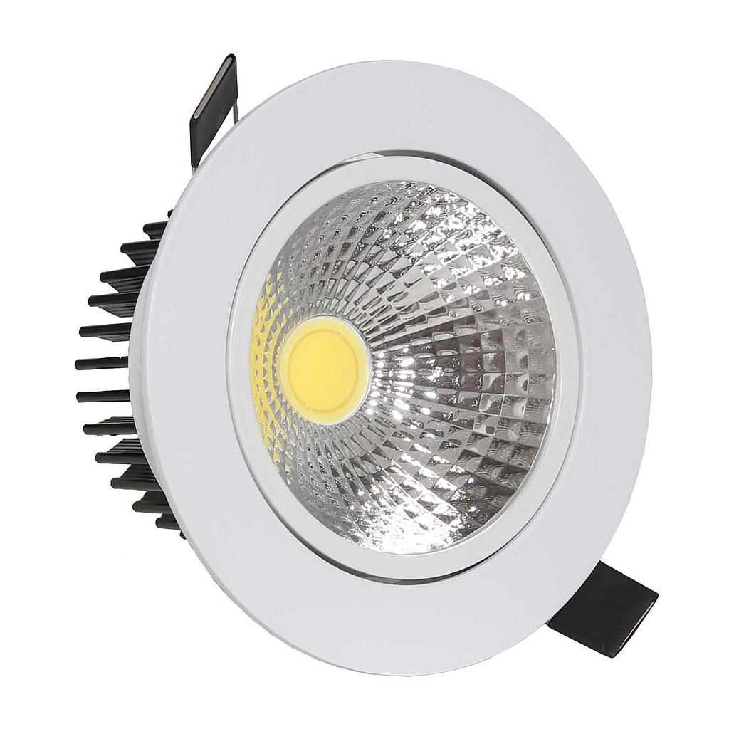 COB Light - 15W - Round - 3000K